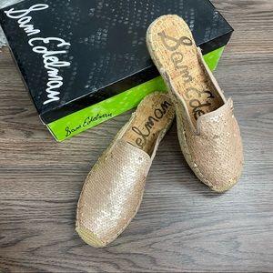NWT Sam Edelman Kerry Sequin Shoes Size 7